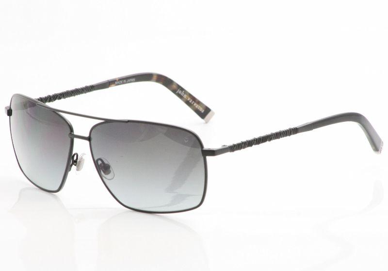 John Varvatos Sunglasses V759 Black Shades