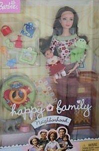 HTF SUPER RARE Barbie Happy Family New Neighbors MIB