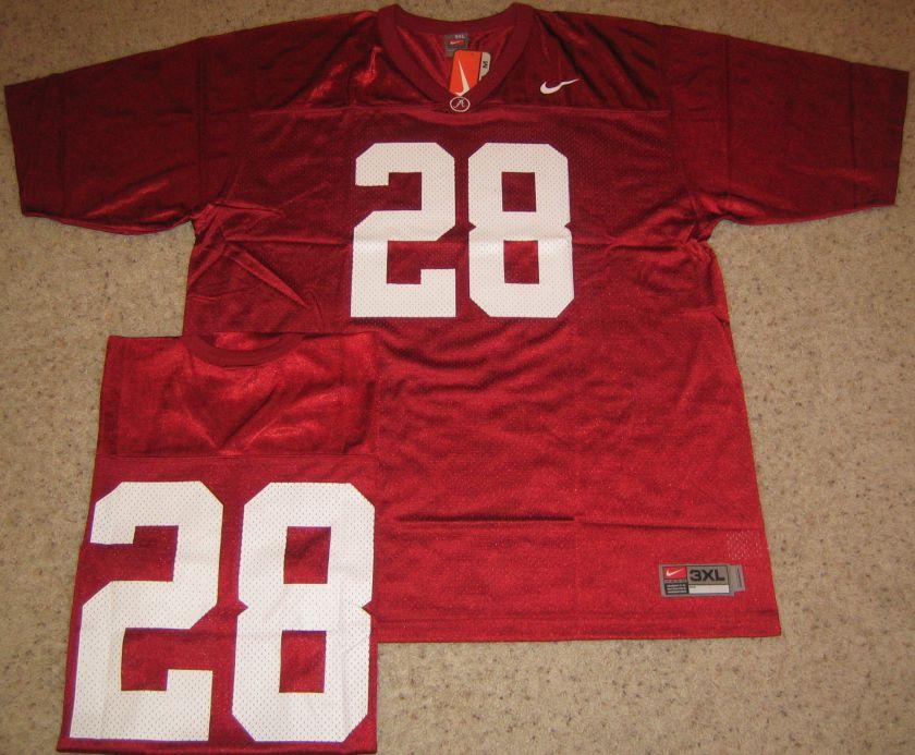 Alabama Crimson Tide Football Jersey 3XL Burg 28