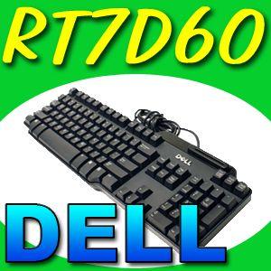 Dell USB Smart Card Reader Wired Keyboard RT7D60 DJ741